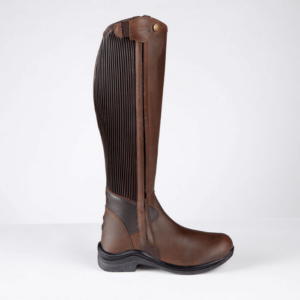 Toggi Quest Riding Boots brown single side