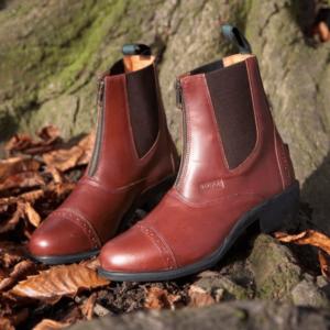 Toggi Richmond Jodhpur Boots oak brown