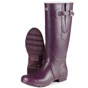 Toggi Wanderer Classic Plus Wellingtons purple matte