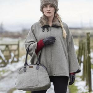 Toggi Woodhall Tweed Bag worn