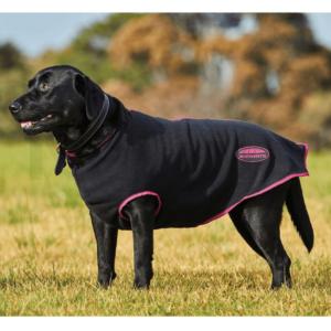 WeatherBeeta Fleece Zip Dog Rug boysenberry black