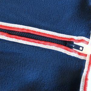 WeatherBeeta Fleece Zip Dog Rug zipper