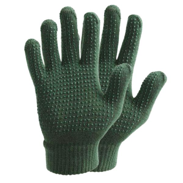 Weatherbeeta Good Hands Child Magic Pimple Grip Glove green