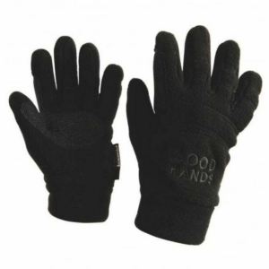 Weatherbeeta Good Hands Pimple Polar Fleece Gloves black