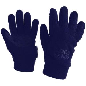 Weatherbeeta Good Hands Pimple Polar Fleece Gloves navy