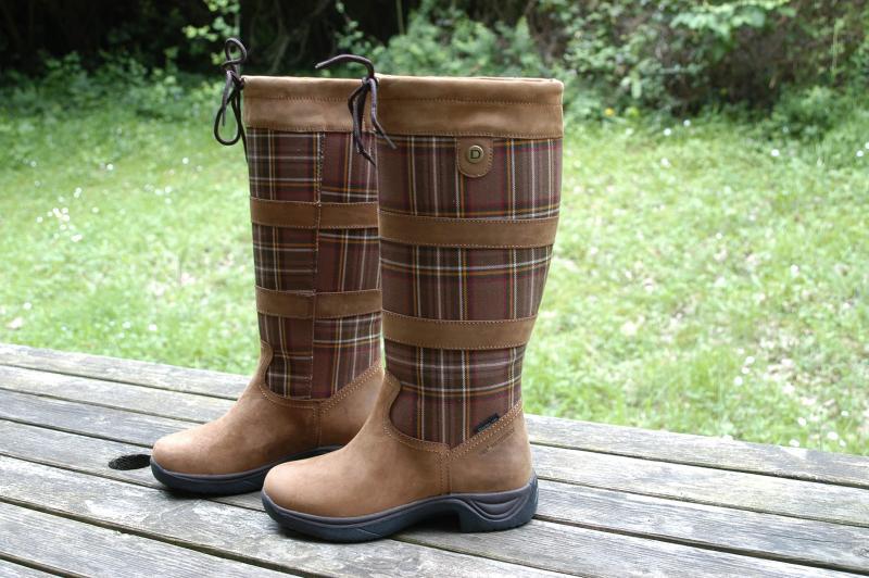 Dublin Plaid River Boots