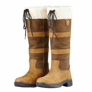 Dark Brown Wide Fit Dublin Eskimo II Boots