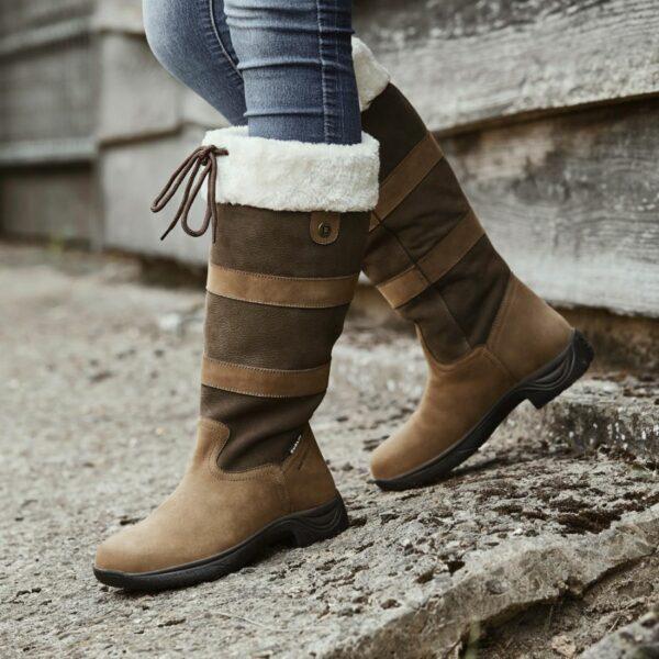 Dublin Eskimo Boots II in Dark Brown