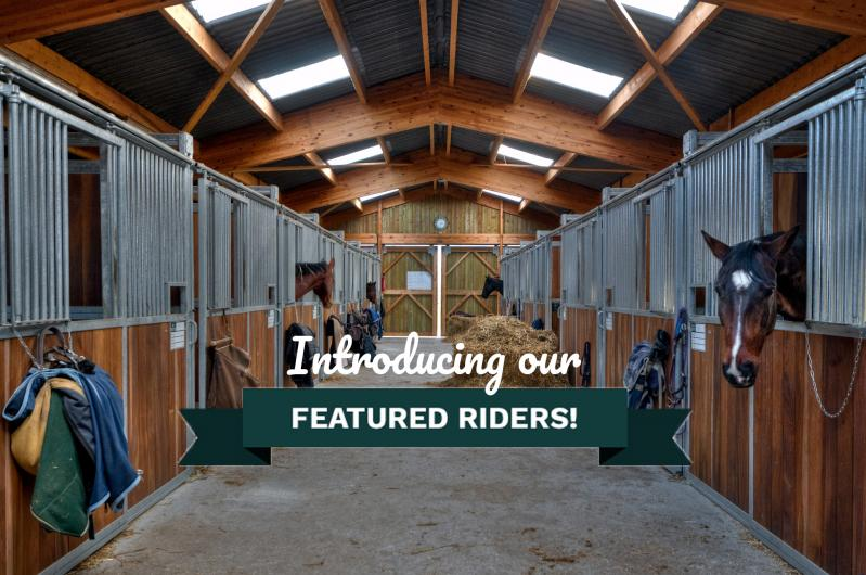 Meet the Riders - Georgie & Rose