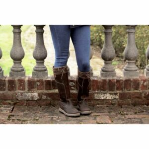 Rhinegold Elite Vermont Leather Country Boots