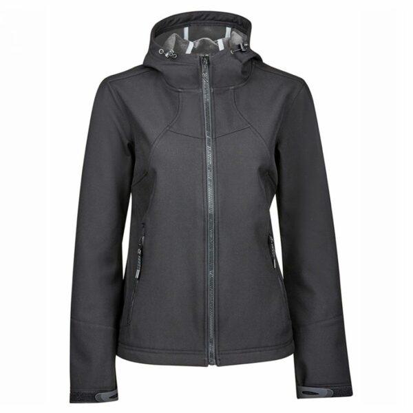 Dublin Black Sam Softshell Jacket