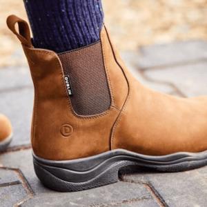 Venturer RS III Boots - Ladies brown logo