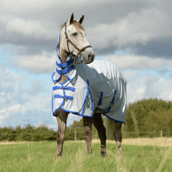 Weatherbeeta ComFiTec 600DMesh Fly Rug Silver Front