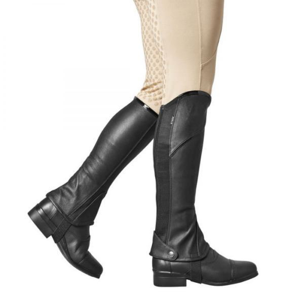 Dublin Stretch Fit Half Chaps Piping
