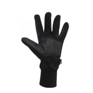 Dublin Everyday Showerproof Polar Fleece Riding Gloves Black
