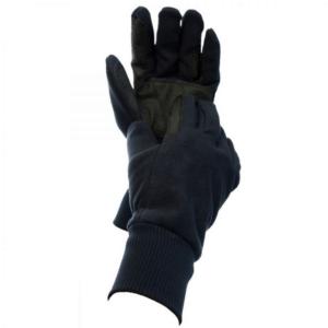 Dublin Everyday Showerproof Polar Fleece Riding Gloves Navy