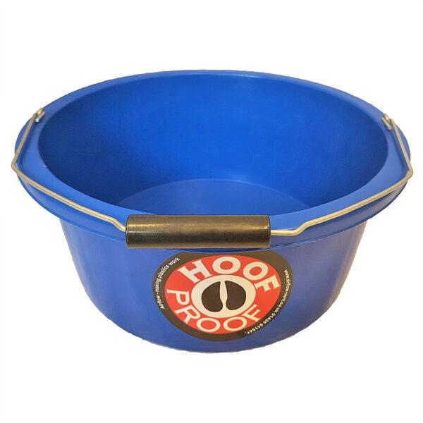 Hoof Proof Shallow Feeder/Multi Purpose Bucket