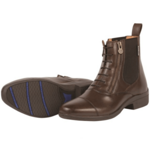 Dublin Paramount Side Zip Paddock Boots Brown