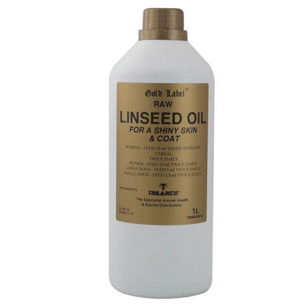 Gold Label Linseed Oil - 1 Lt