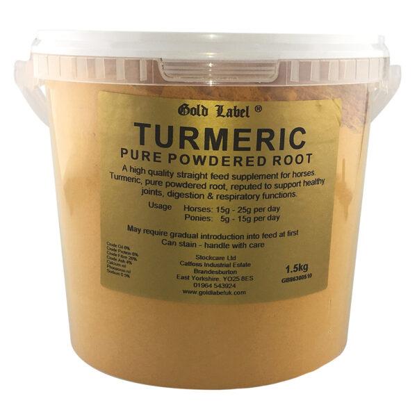 Gold Label Turmeric - 1.5 Kg