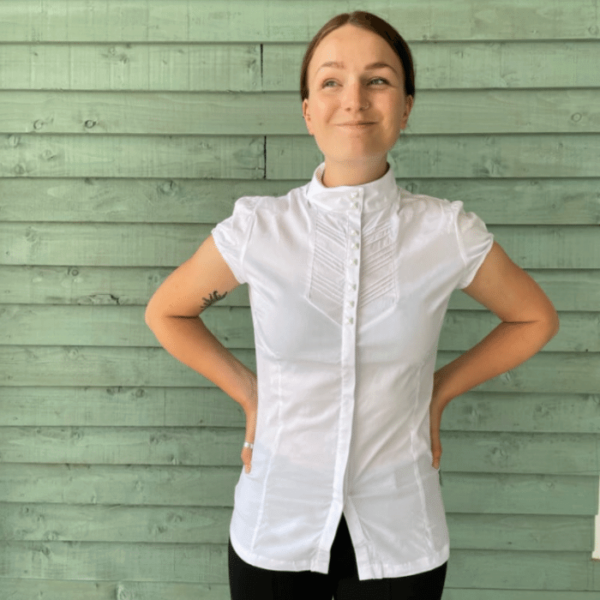 Ladies Competition Shirt - SS - White