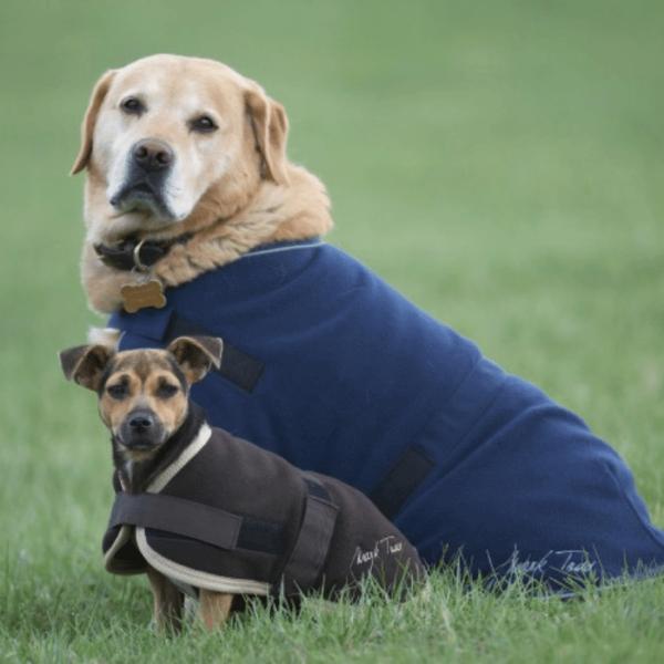 Mark Todd Fleece Dog Rug - Navy