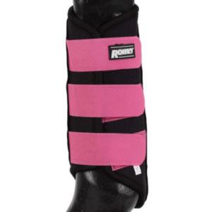 Roma Neoprene Brush Boot Black Pink