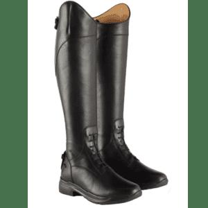 Avebury Riding Boot-Black-Front