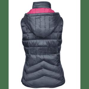 Dublin Gemma Puffer Vest Ink- Back