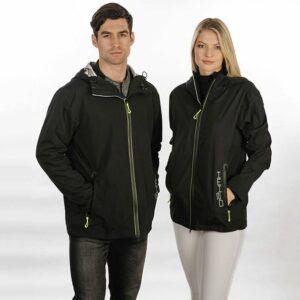 Horseware Unisex H2O Jacket Black-LF-MF-Front