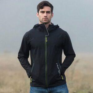 Horseware Unisex H2O Jacket Black-LF-Male-Front