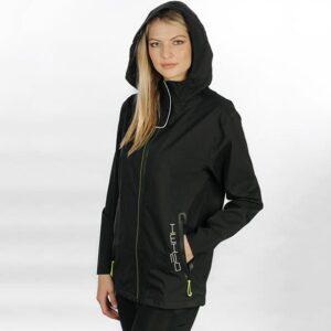 Horseware Unisex H2O Jacket Black-LF-Side