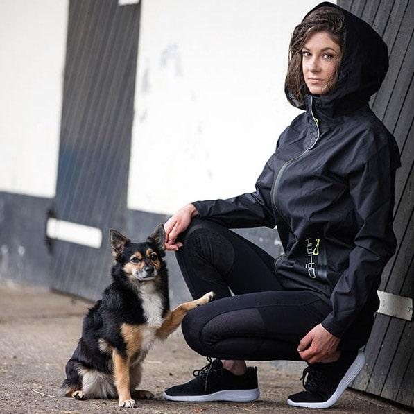 Horseware Unisex H2O Jacket Black-LF
