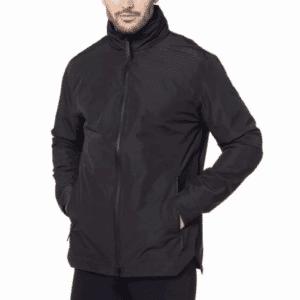 Men's Defender Jacket-Black-Front