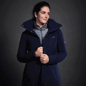 Weatherbeeta Kyla Waterproof Jacket-Navy-Lifestyle