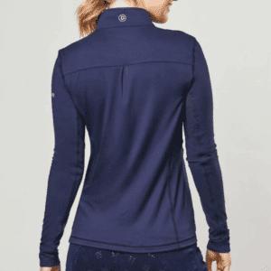 Dublin Kylee Long Sleeve Shirt II-Navy-LF-Back